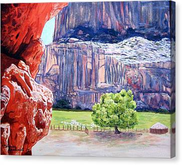 Canyon De Chelly Canvas Print