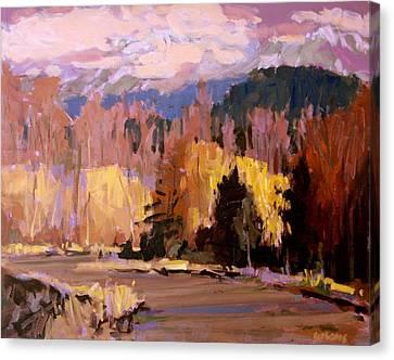 Canyon Drive Canvas Print by Brian Simons