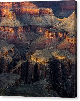 Canvas Print featuring the photograph Canyon Enchantment by Carl Amoth
