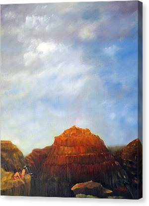 Canyon Overlook Canvas Print