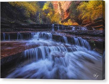 Canvas Print - Canyon Paradise by Peter Coskun