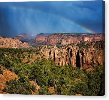 Canyon - Rainbow - Arizona Canvas Print