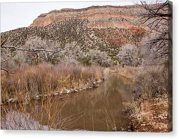 Canyon River Canvas Print by Ricky Dean