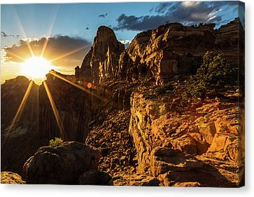 Canyonlands Sunset II Canvas Print