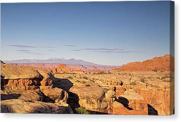 Canyonlands Sunset Canvas Print by Kunal Mehra