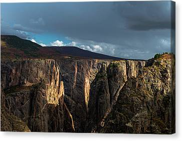 Canyon's Evening Light Canvas Print