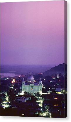 Cap-haitian Central Church Canvas Print