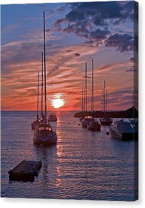 Cape Ann Sunrise Canvas Print by Robert Pilkington