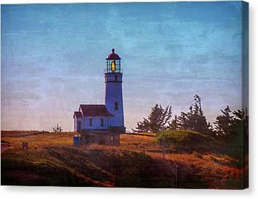 Cape Blanco Lighthouse Oregon Canvas Print by Garry Gay