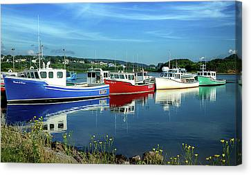 Canvas Print featuring the photograph Cape Breton Island by Rodney Campbell
