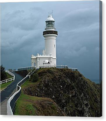 Canvas Print featuring the photograph Cape Byron Lighthouse by Odille Esmonde-Morgan