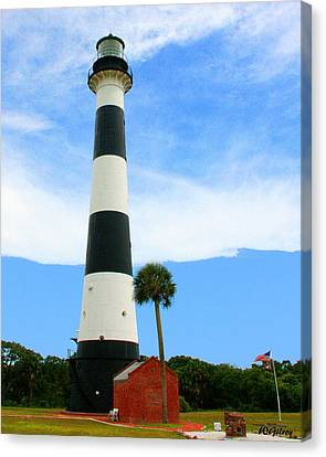 Cape Canaveral Lighthouse Canvas Print by W Gilroy