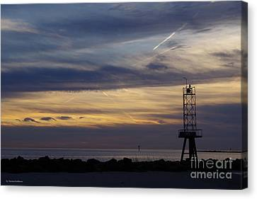 Canvas Print - Cape Charles Sunset by Tannis Baldwin
