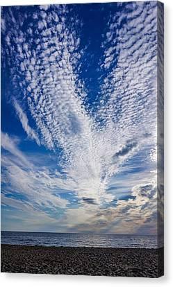 Cape Clouds Canvas Print