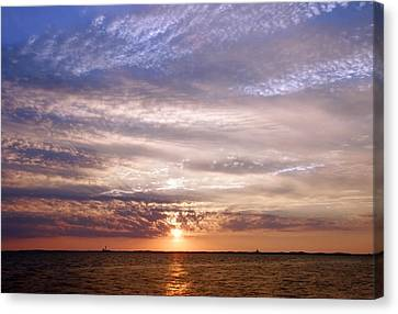 Cape Cod Bay And Sky Canvas Print