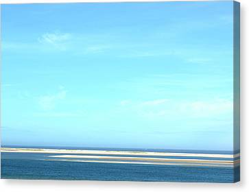 Cape Cod Big Sky Canvas Print by David Birchall