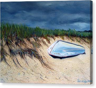 Cape Cod Boat Canvas Print by Paul Walsh
