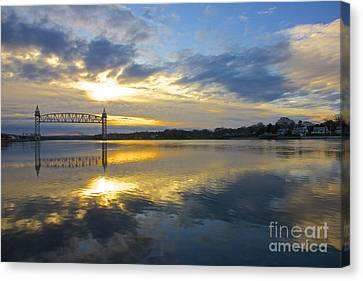 Cape Cod Canal Sunrise Canvas Print