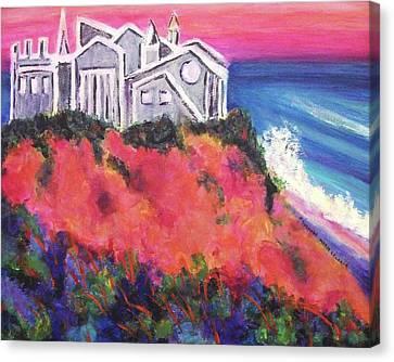 Cape Cod Castle Canvas Print by Suzanne  Marie Leclair
