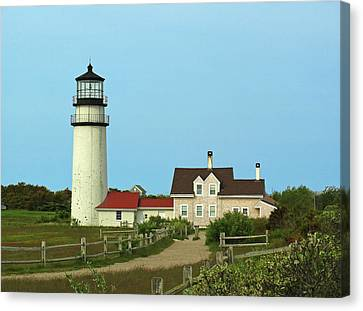 Cape Cod Highland Lighthouse Canvas Print by Juergen Roth
