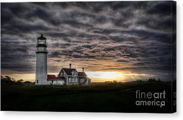 Cape Cod Lighthouse Canvas Print by TK Goforth