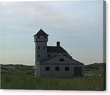 Cape Cod Old Harbor Life Saving Station Canvas Print