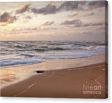 Canvas Print featuring the photograph Cape Cod Sunrise 1 by Susan Cole Kelly