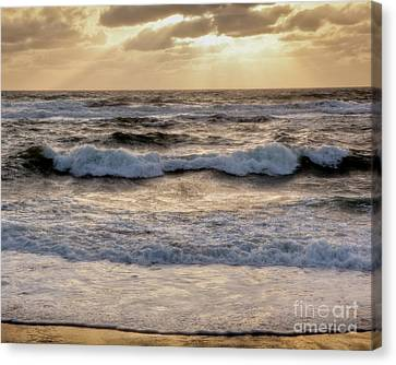 Canvas Print featuring the photograph Cape Cod Sunrise 2 by Susan Cole Kelly
