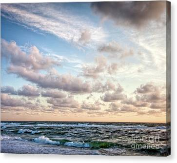 Canvas Print featuring the photograph Cape Cod Sunrise 3 by Susan Cole Kelly