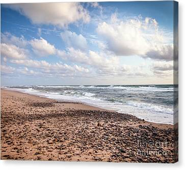 Canvas Print featuring the photograph Cape Cod Sunrise 4 by Susan Cole Kelly