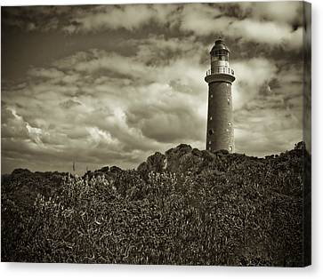 Canvas Print featuring the photograph Cape Du Couedic by Tom Vaughan