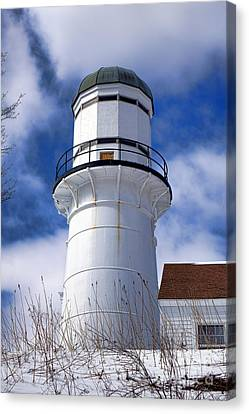 Cape Elizabeth Western Lighthouse Canvas Print by Olivier Le Queinec