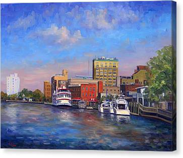 Cape Fear Afternoon Canvas Print by Jeff Pittman