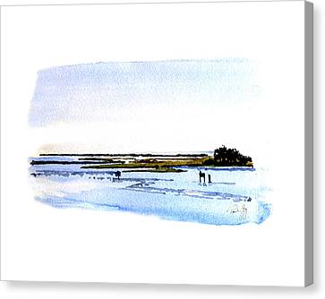 Cape Fear Intercoastal Morning Canvas Print