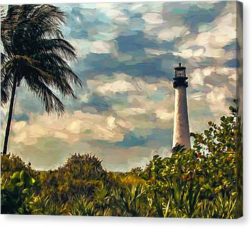 Cape Florida Canvas Print by John K Woodruff