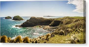 Cape Grim Cliff Panoramic Canvas Print