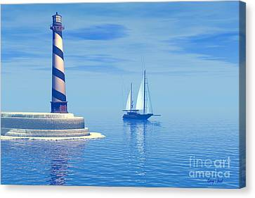 Cape Hatteras Canvas Print by Corey Ford