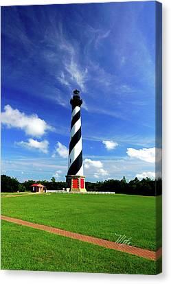 Canvas Print featuring the photograph Cape Hatteras Lighthouse by Meta Gatschenberger