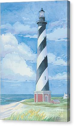 Cape Hatteras Lighthouse Canvas Print by Paul Brent