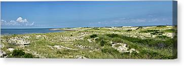 Cape Henlopen State Park - The Point - Delaware Canvas Print by Brendan Reals