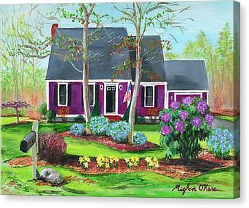 Cape House Canvas Print