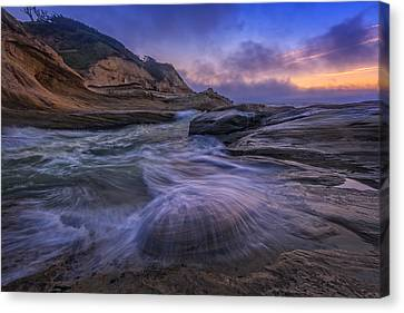 Cape Kiwanda Twilight Canvas Print by Rick Berk