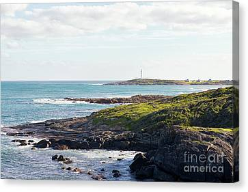 Canvas Print featuring the photograph Cape Leeuwin Lighthouse by Ivy Ho