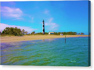 Cape Lookout 1 Canvas Print by Betsy Knapp