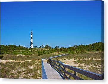Cape Lookout 2 Canvas Print by Betsy Knapp