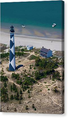 Cape Lookout 4 Canvas Print by Betsy Knapp
