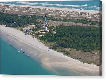 Cape Lookout 6 Canvas Print by Betsy Knapp