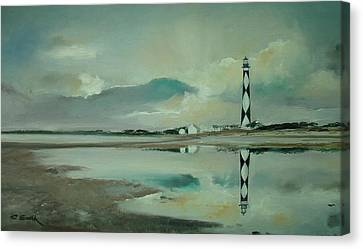 Cape Lookout Canvas Print by Charles Roy Smith