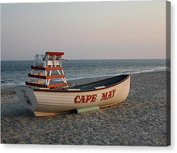 Cape May Calm Canvas Print