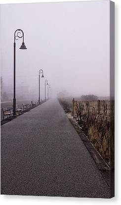 Cape May Fog Canvas Print by Tom Singleton